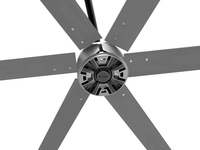 工业大风扇轻松解决厂房车间通风降温